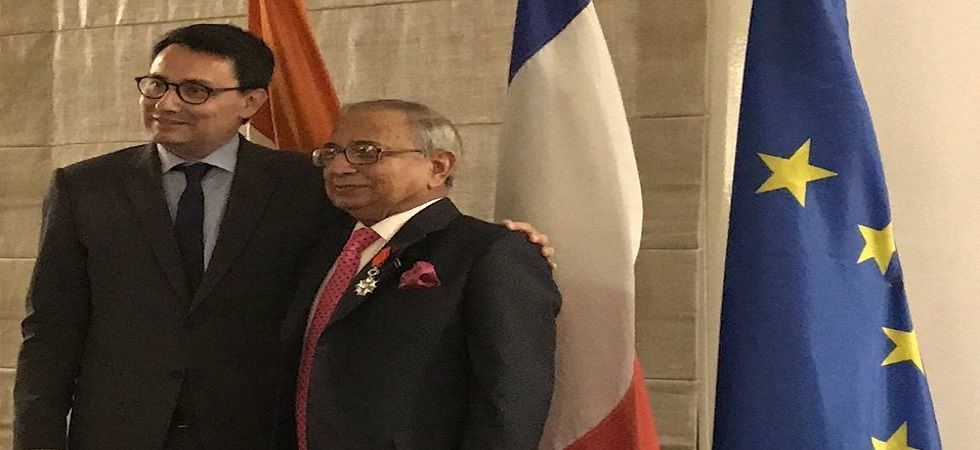 Jawahar Lal Sarin presented with France's highest civilian ...