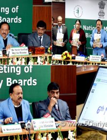 India submits sixth national report to Convention of Biological Diversity