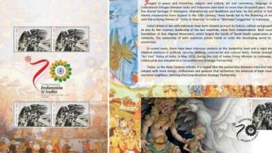 Ramayana Themed Stamp Released by Indonesia