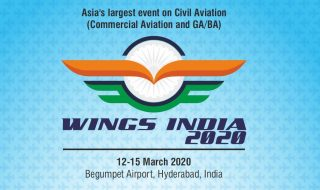 Wings India 2020 held from March 12 - 15 in Hyderabad