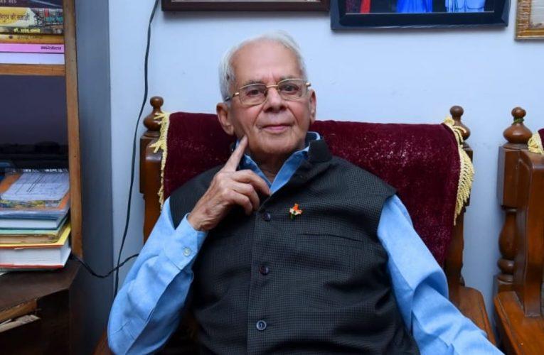 Hindi writer Prof. Sharad Pagare to be honoured with Vyas Samman-2020