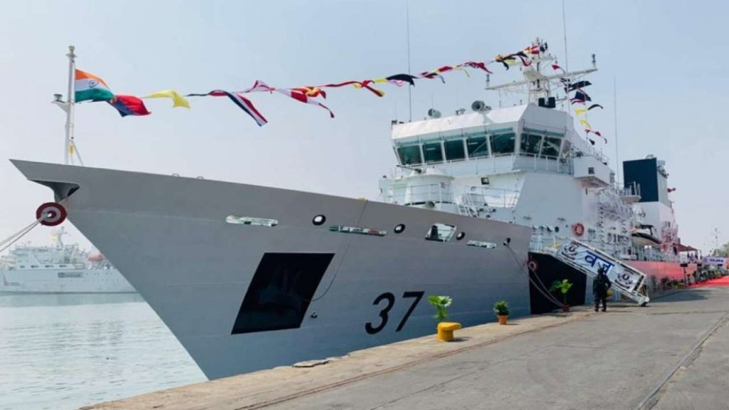Ins Vajra Commissioned To Indian Coast Guard