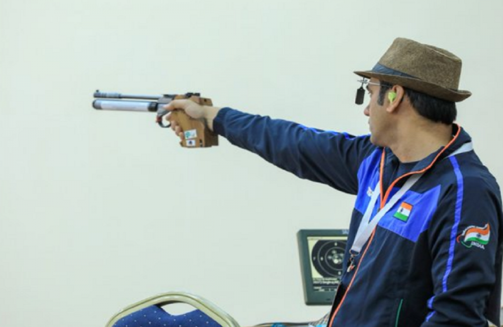 India's Singhraj wins gold in 2021 World Shooting Para Sport World Cup