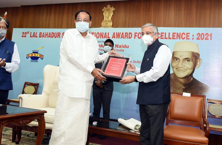 AIIMS Director Dr Randeep Guleria awarded 22nd Lal Bahadur Shastri National Award for Excellence