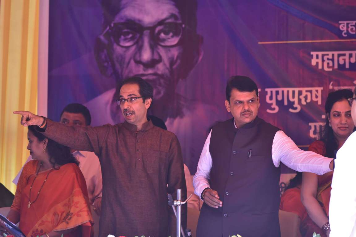 Used to Sena's threats, says Fadnavis on Uddhav Thackeray announcing end to alliance with BJP