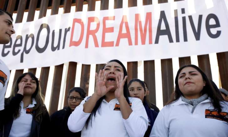 Trump proposes path to citizenship for 1.8m undocumented youths
