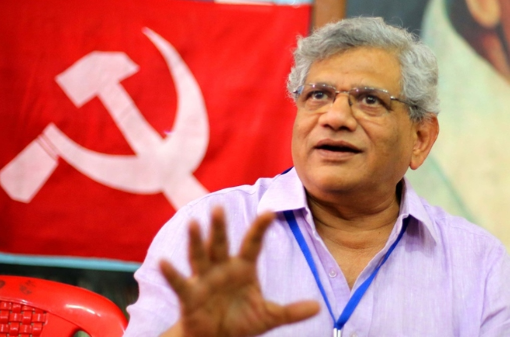 CPI(M) says no to Yechury's proposal for Congress tie-up