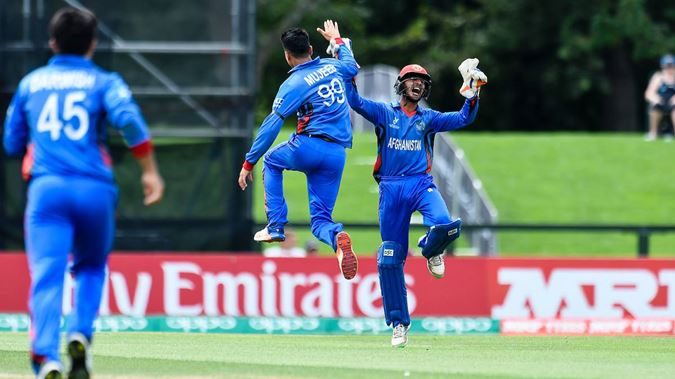Afghanistan creates history in ICC U-19 World Cup, beat New Zealand to enter semis