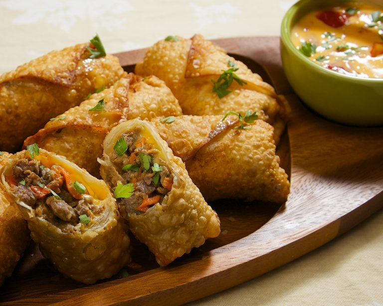 Cheese Egg Roll Recipe