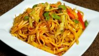 Vegetable Chowmein Recipe Indian Style