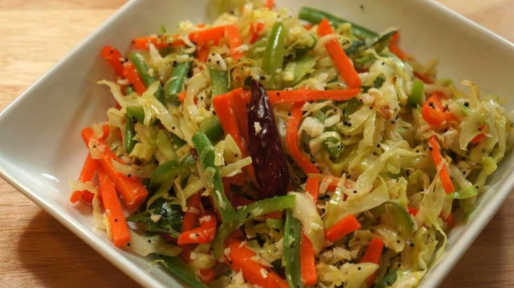 Indian Cabbage Salad Recipe