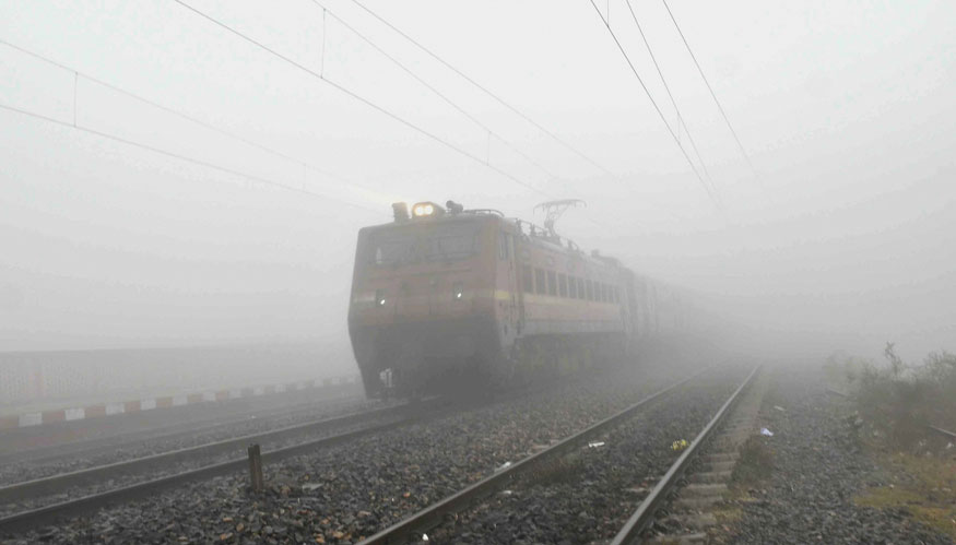 Delhi Fog Hits Train Operations Again, 62 Trains Delayed And 18 Cancelled