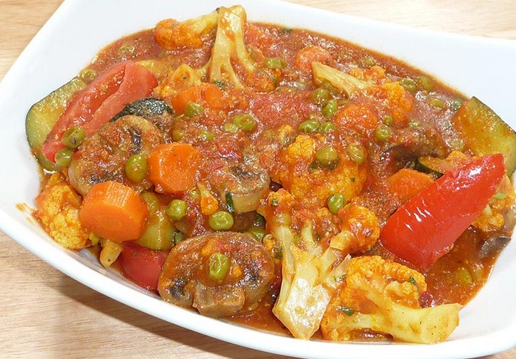 Indian Vegetable Curry Recipe