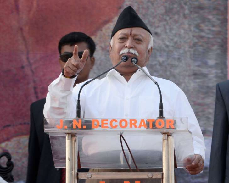 """Amid Row, RSS Says Chief Mohan Bhagwat's """"Army"""" Remark Misrepresented"""