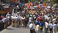 BJP protests