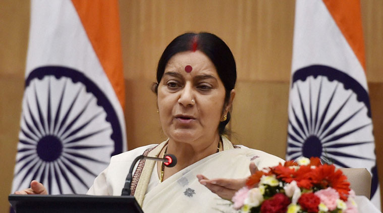 Congress accuses Sushma Swaraj of misleading nation on death of 39 Indians, to move privilege motion