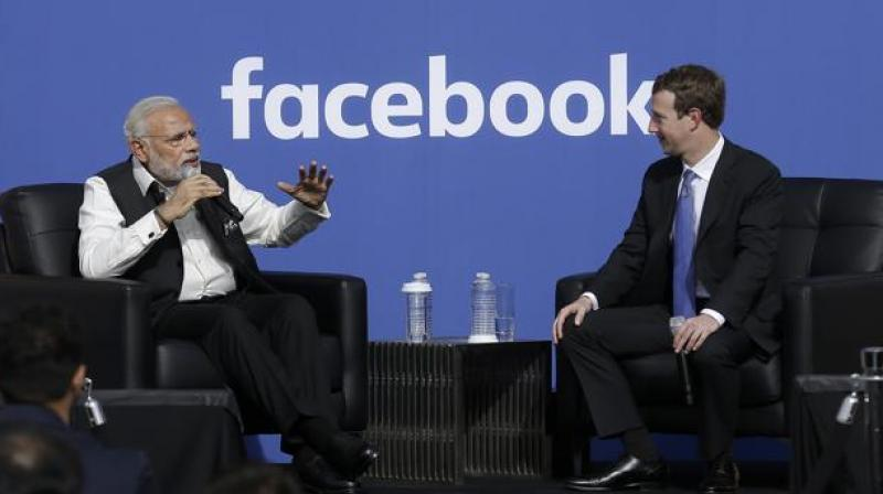 Modi only PM to visit Facebook HQ; portraying Zuckerberg as villain: Cong