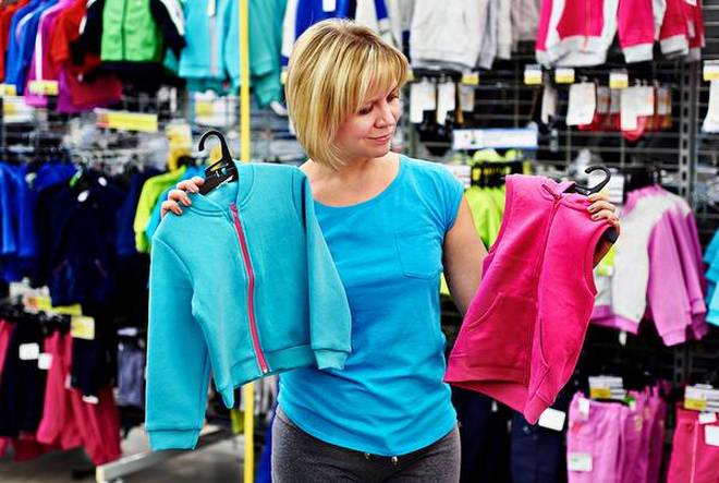 Go shopping for fitness gear