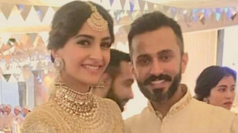 First picture: Sonam, Anand shine in all their splendour and glory at sangeet