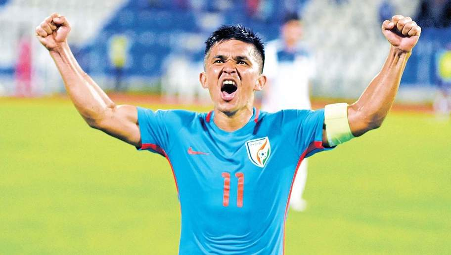 Haven't reached the stature to inspire i'ntl players: Sunil Chhetri