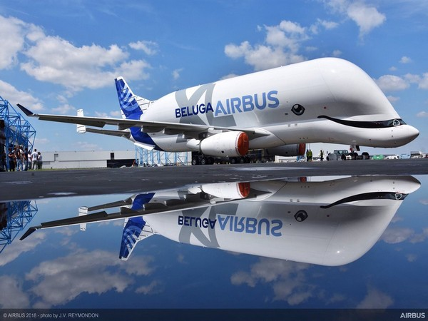 Airbus unveils its new whale-shaped plane