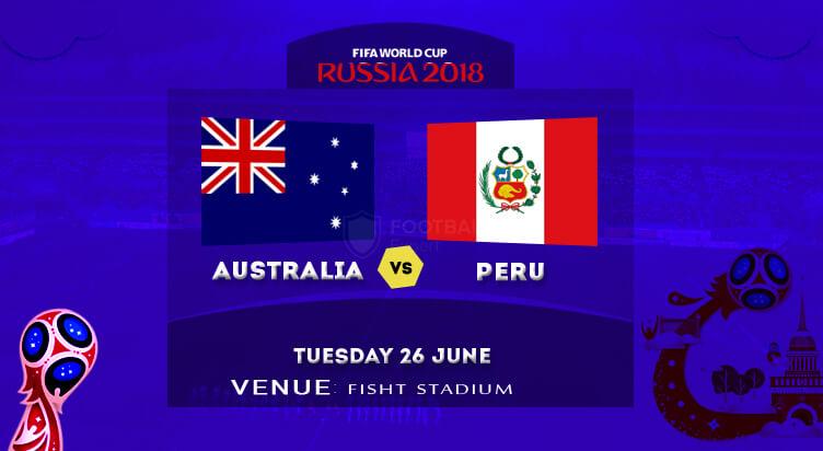 Peru vs Australia : FIFA World Cup