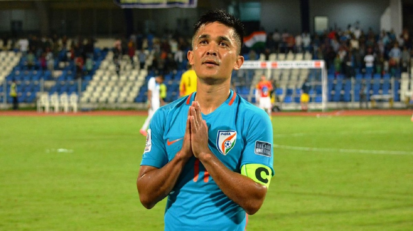 Sunil Chhetri thanks fans for big win over Kenya