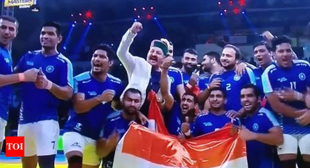 India clinch Kabaddi Masters title with easy win over Iran