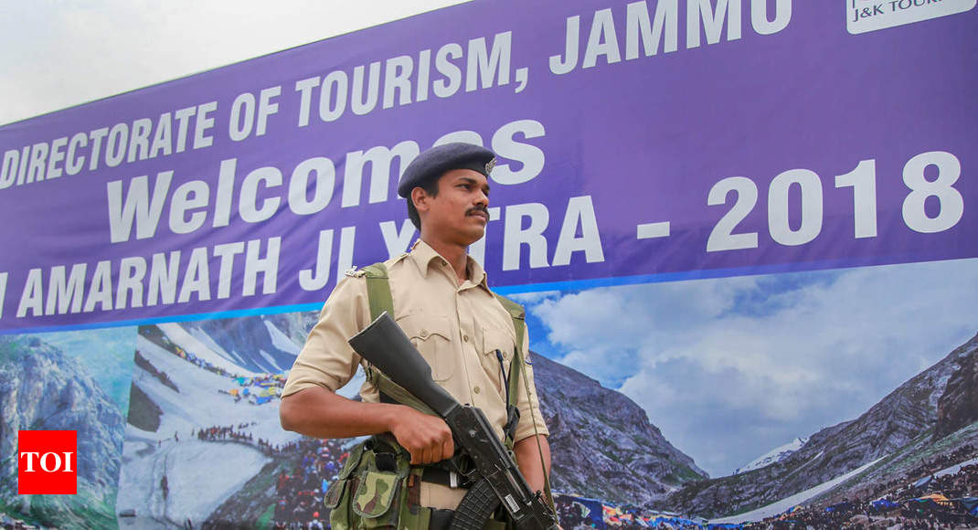 Amarnath Yatra suspended on both routes due to heavy rain