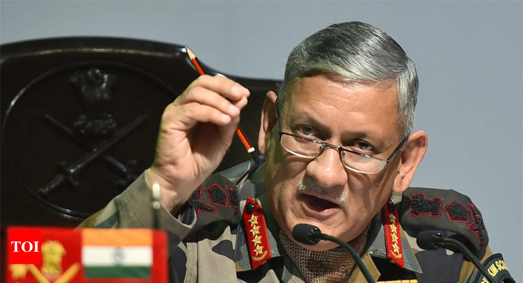 General Bipin Rawat: Army operating with people-friendly rules of engagement in Jammu and Kashmir