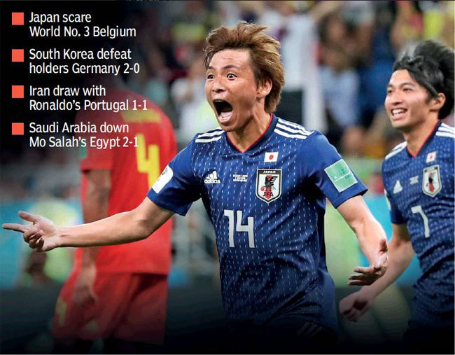 FIFA World Cup 2018: Asians can play football