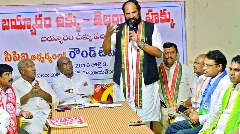 Parties to put pressure on K Chandrasekhar Rao on land records issue