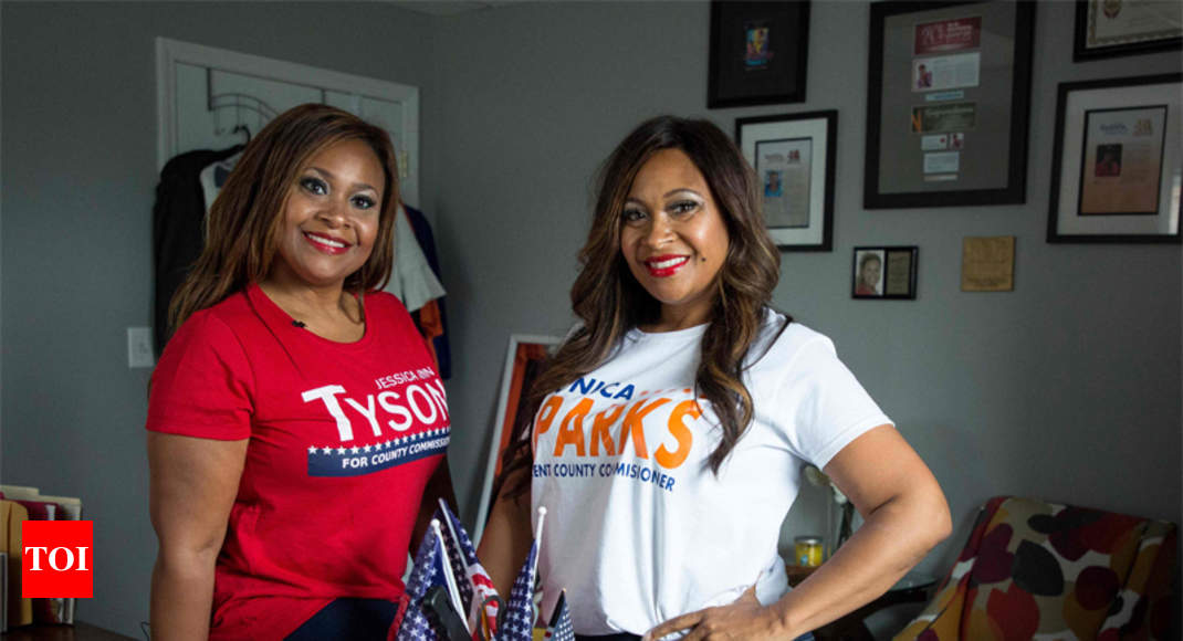 Identical twins run for US office — for rival parties