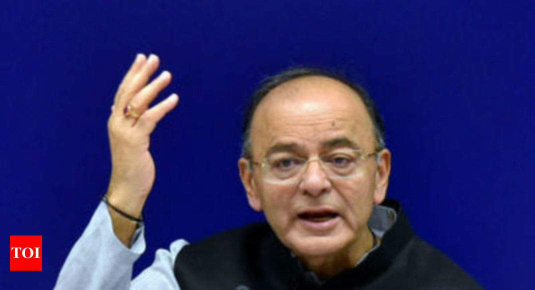 Arun Jaitley sees GST rate cut on cement, ACs, TVs with rise in revenue