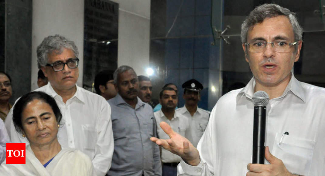 Omar meets Mamata, says all parties must form united front against BJP