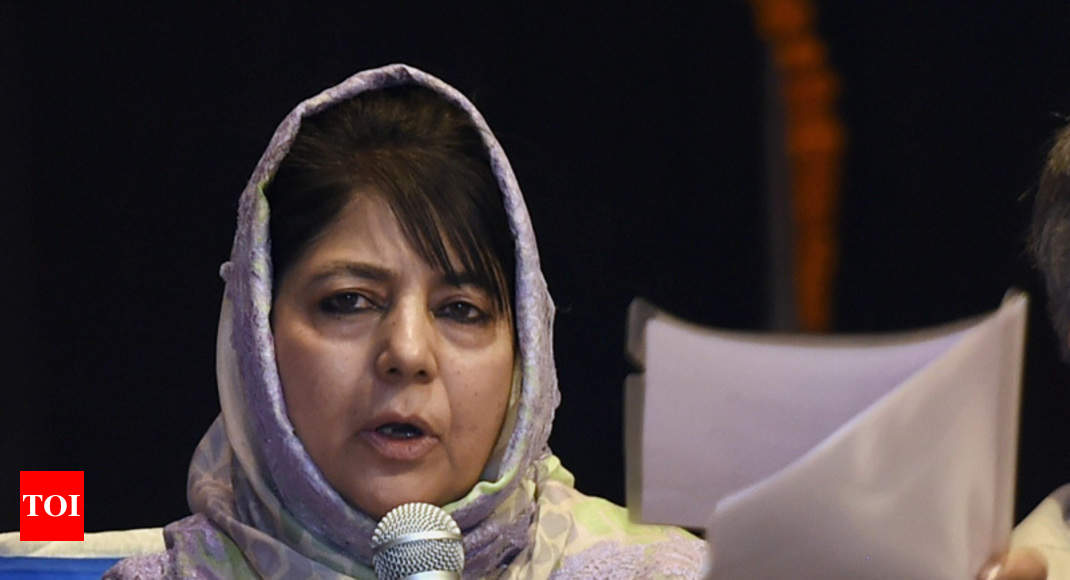 Former J&K minister Imran Ansari hits out at Mehbooba Mufti, accuses her of nepotism