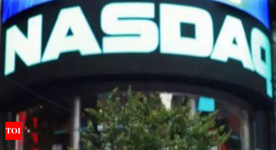 Nasdaq ends at record after Fed upbeat on US economy