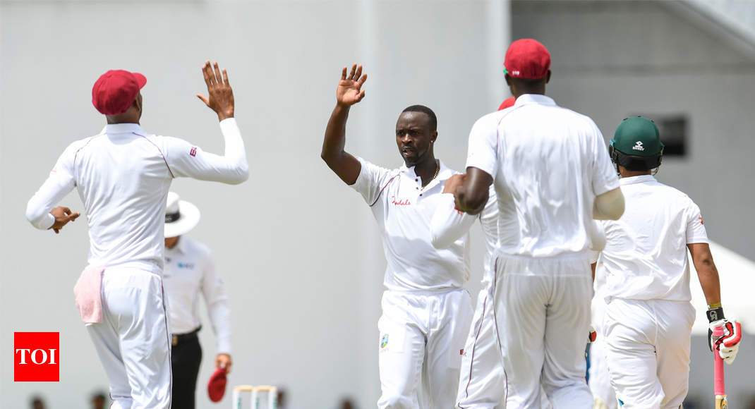 1st Test: West Indies dismiss Bangladesh for record low of 43