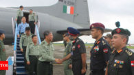 Chinese military delegation visits Indian Army