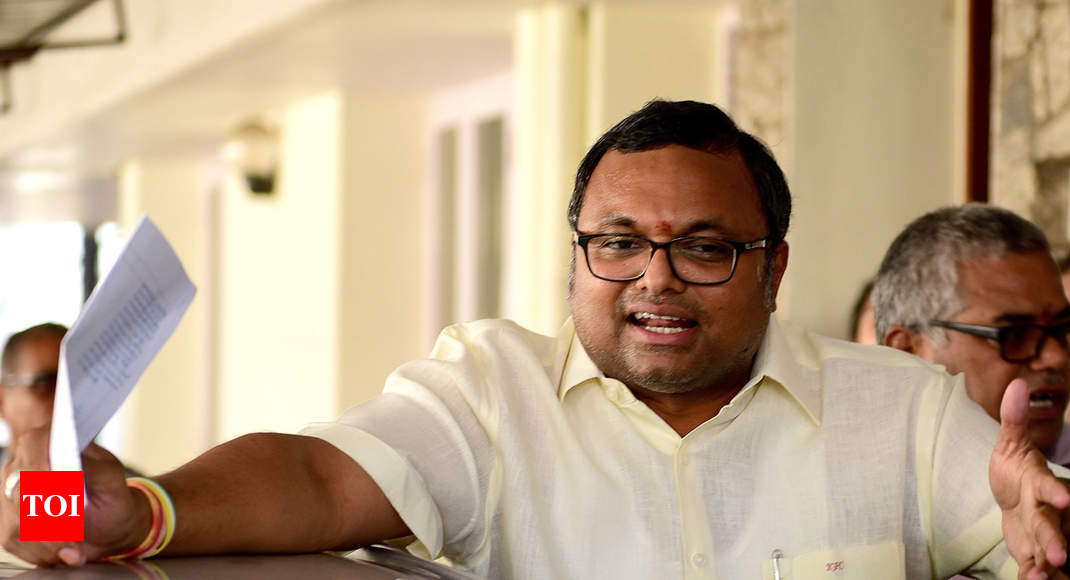 Court allows ED to file documents in support of charges against Karti Chidambaram