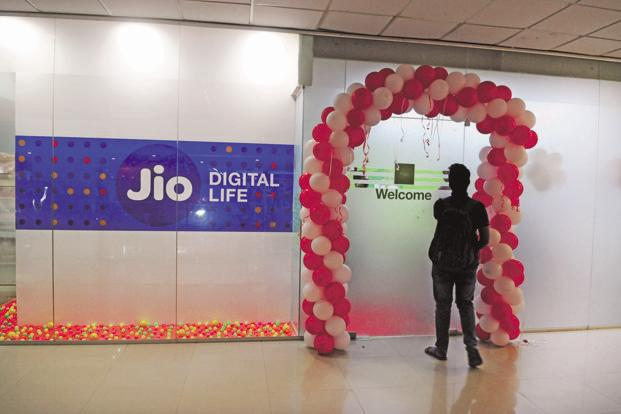 Reliance Jio today unveiled its fiber-based fixed line broadband services which will be available across 1,110 cities. Photo: Mint