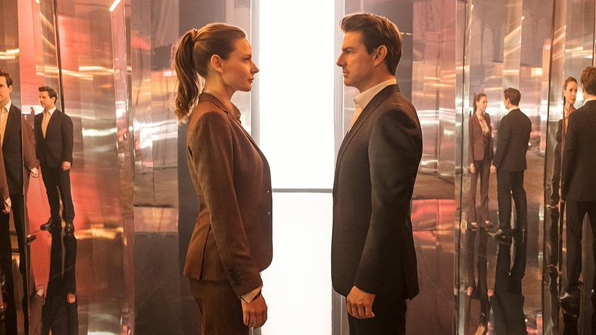 Movie review: Latest 'Mission Impossible' mixes thrills, predictability.