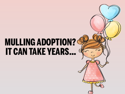 Adoption: Only 1 child for 10 parents in waiting