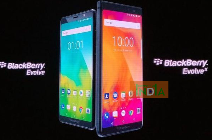Blackberry evolve x smartphond