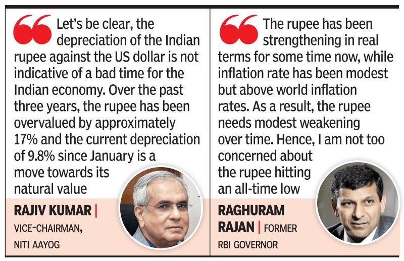 Rupee at 70 against dollar is new normal