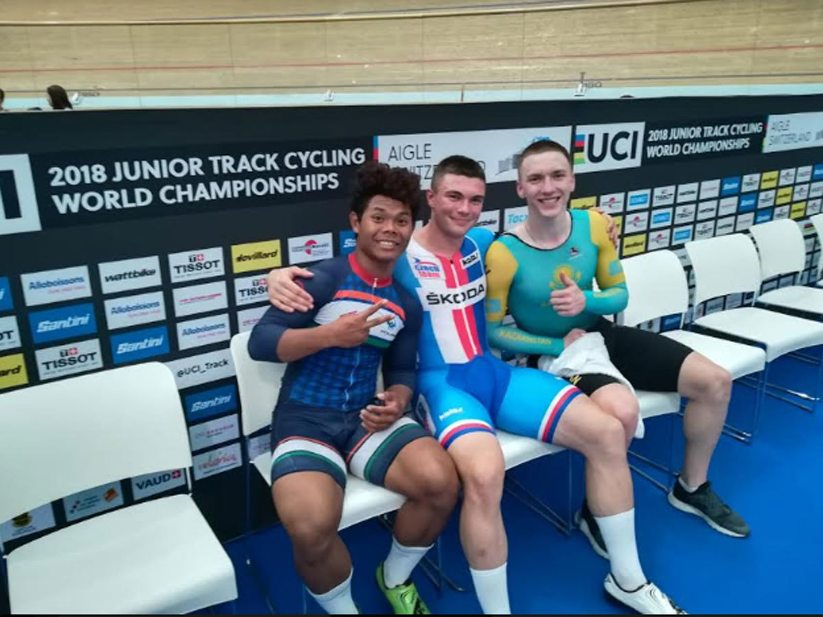 Esow wins India's first world track cycling medal