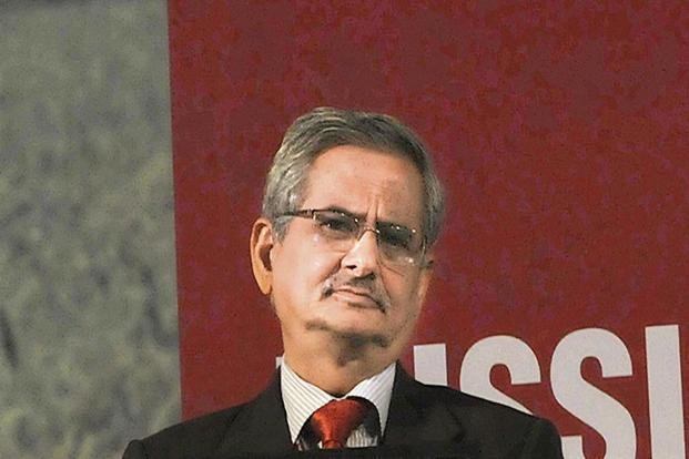 Banks Board Bureau chairman B.P. Sharma. Photo: HT