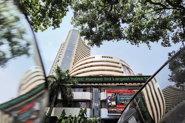 The benchmark S&P BSE Sensex Index has rallied 11% this year, boosted by a revival in economic growth and company earnings. Photo: Reuters