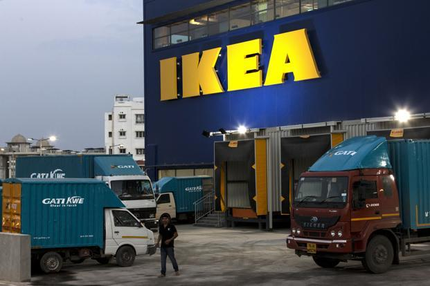 The Ikea Hyderabad store. Given how well its supply chain is organized in India, we may well see Ikea online moving faster than the roll out of the physical stores. Photo: Bloomberg