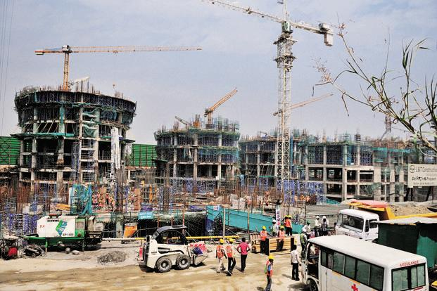 L&T's revenue from the infrastructure segment rose 9% year on year to Rs 12,135 crore during Q1. Photo: Mint